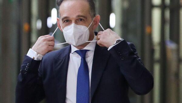 Minister spraw zagranicznych Niemiec Heiko Maas - Sputnik Polska