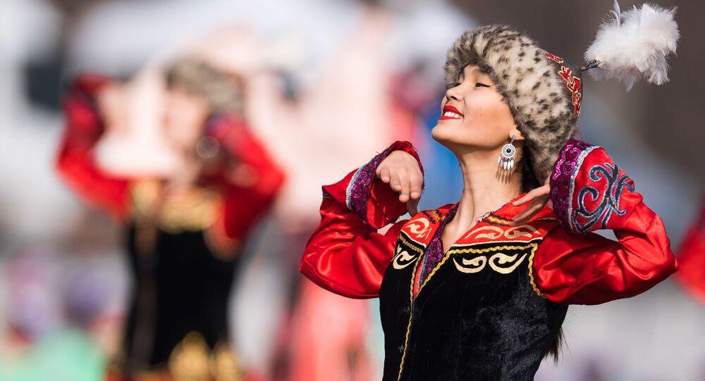 Kirgiska kobieta