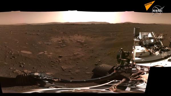 Kadry z Marsa - Sputnik Polska