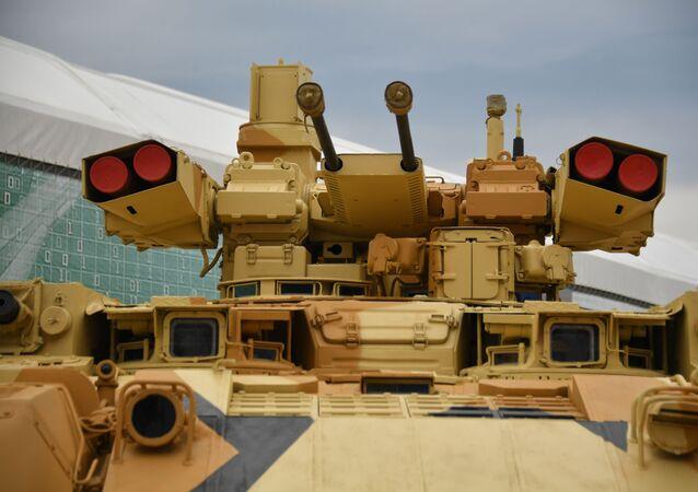 Rosyjski ciężki bojowy wóz wsparcia czołgów Terminator