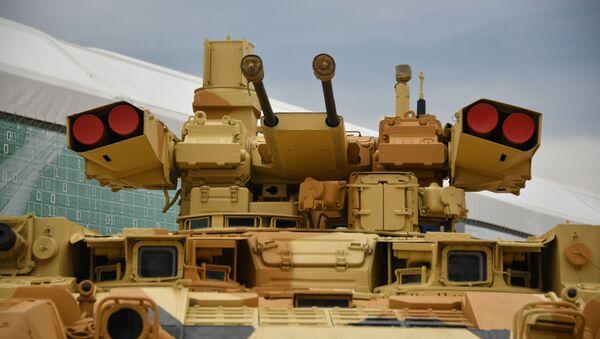 Rosyjski ciężki bojowy wóz wsparcia czołgów Terminator - Sputnik Polska