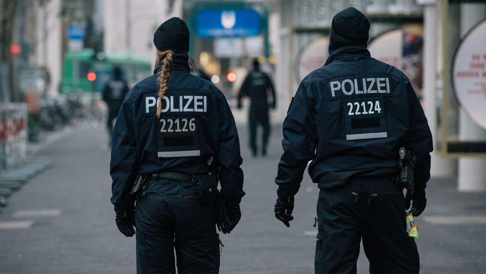 Niemiecka policja - Sputnik Polska, 1920, 24.02.2021
