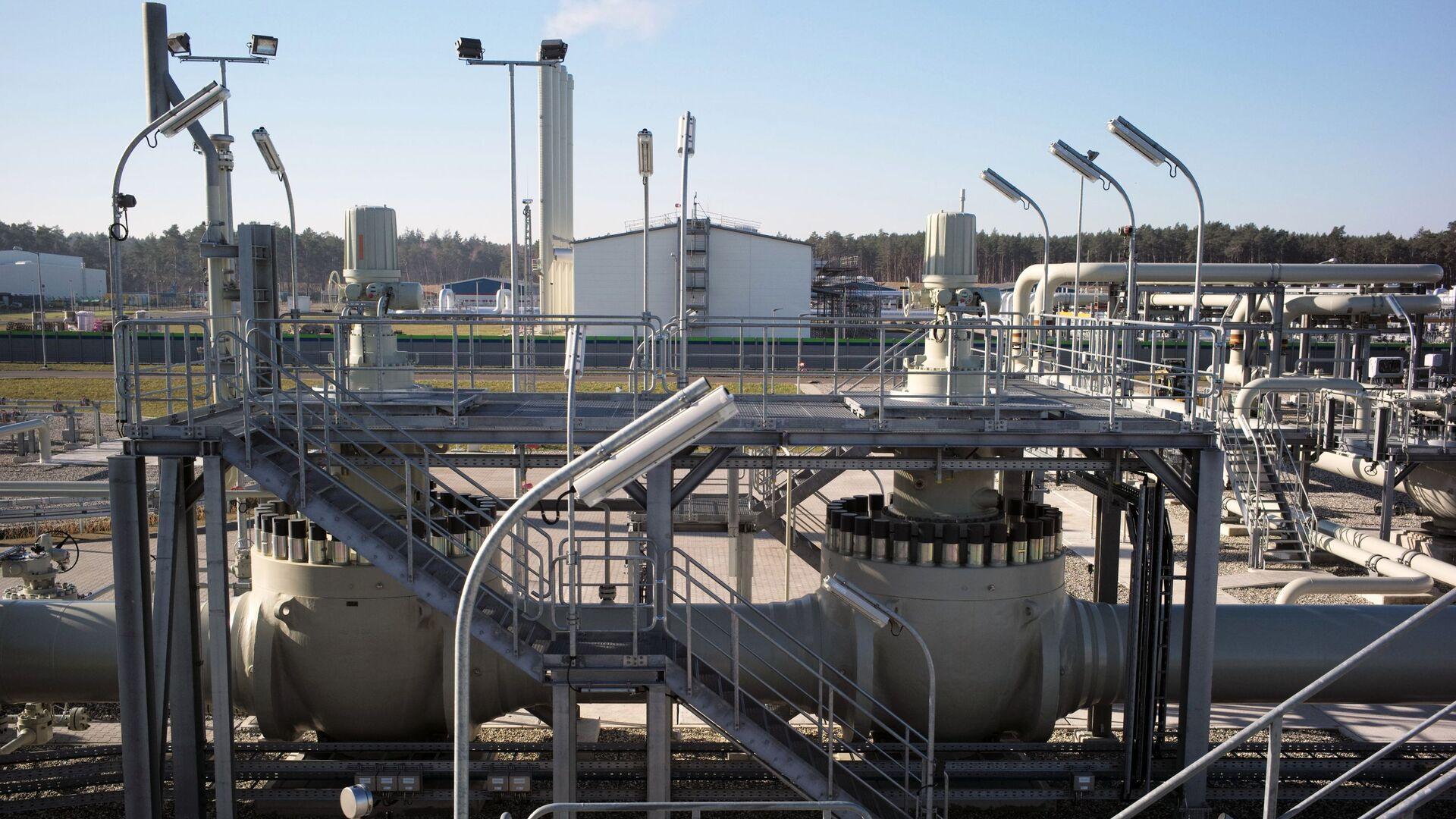 Obiekty lądowe gazociągu Nord Stream 2 w Lubminie w Niemczech - Sputnik Polska, 1920, 19.05.2021