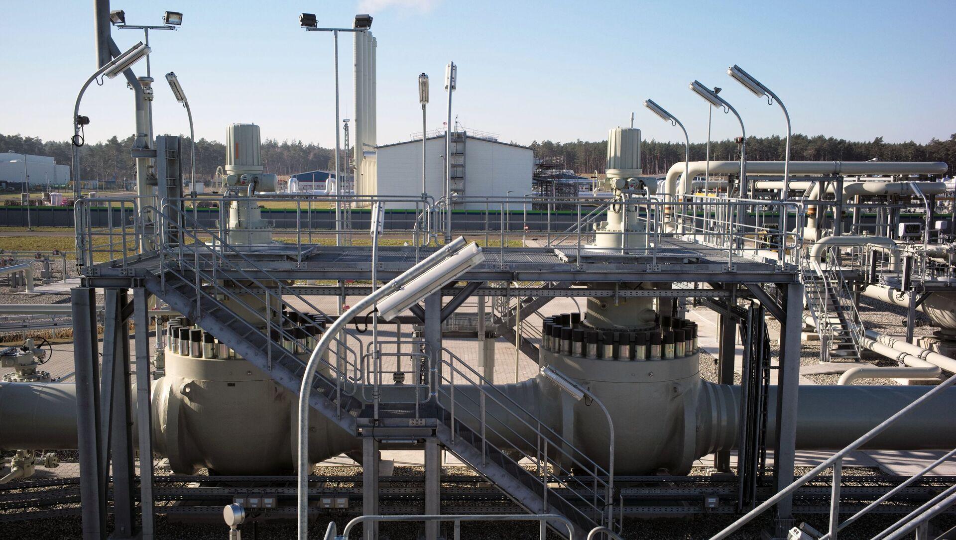 Obiekty lądowe gazociągu Nord Stream 2 w Lubminie w Niemczech - Sputnik Polska, 1920, 25.03.2021