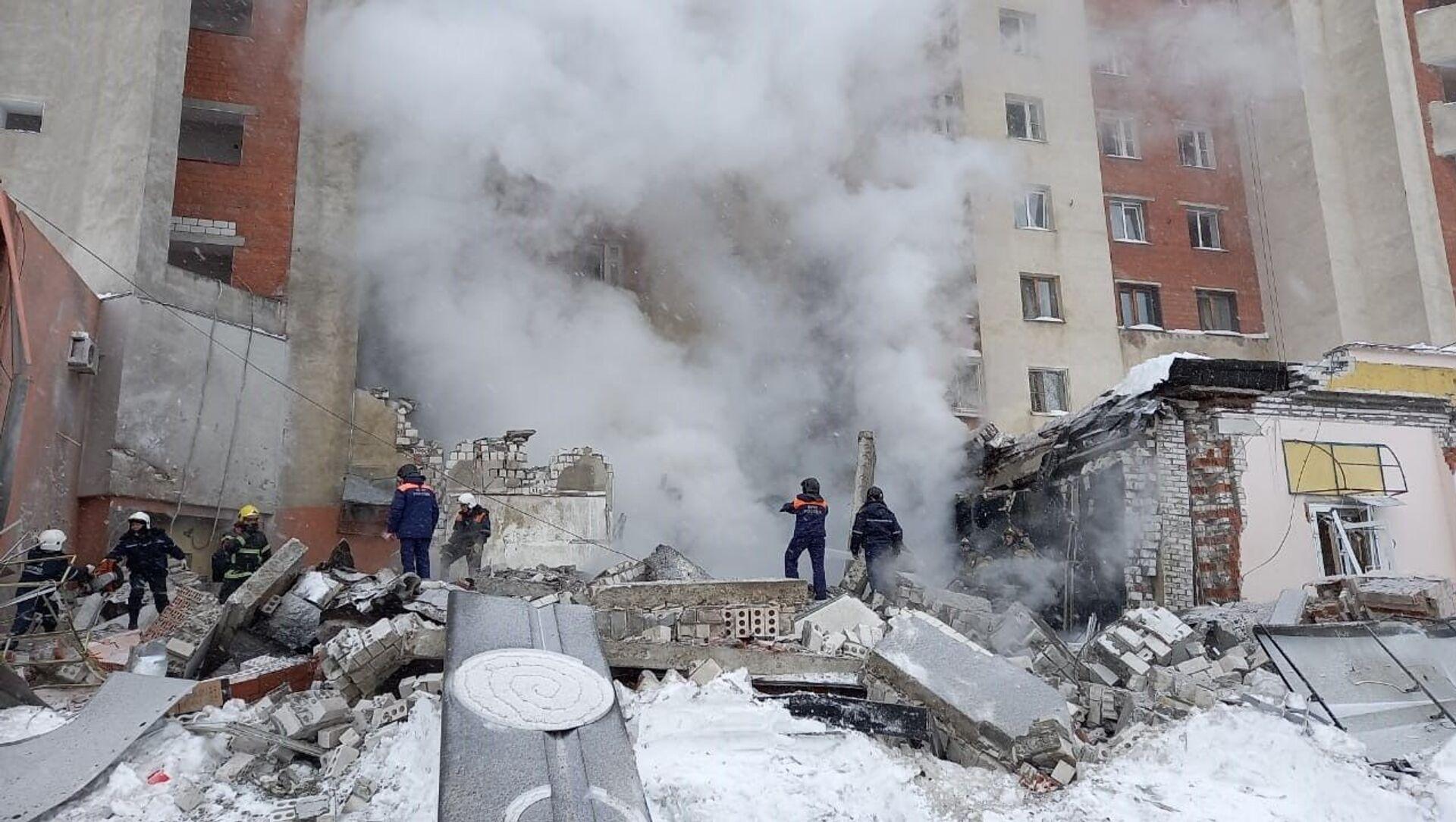 Wybuch w budynku mieszkalnym w Niżnym Nowogrodzie - Sputnik Polska, 1920, 26.02.2021