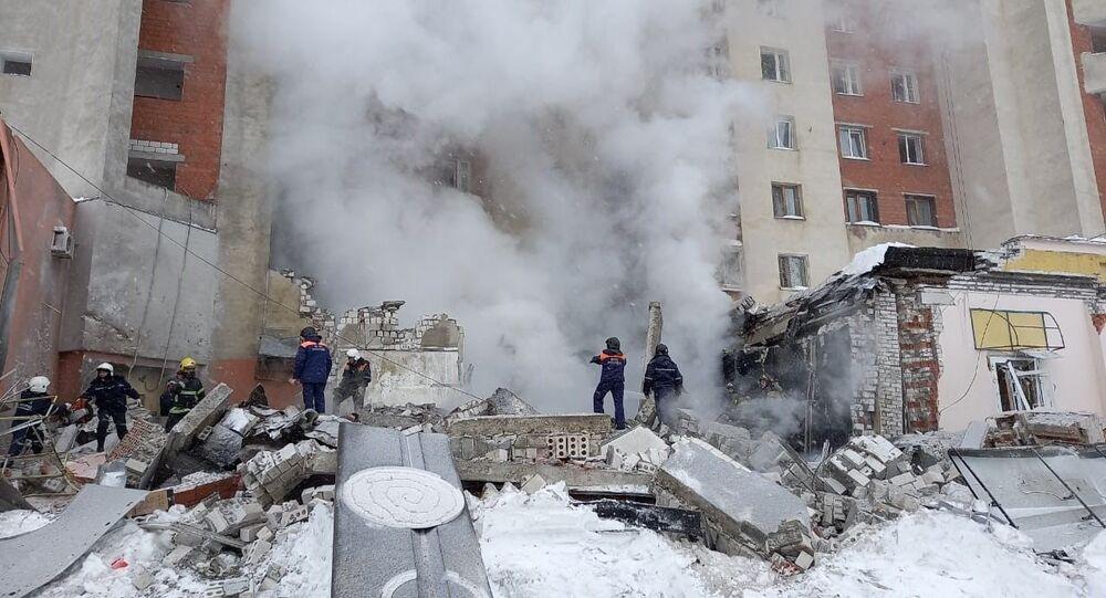 Wybuch w budynku mieszkalnym w Niżnym Nowogrodzie
