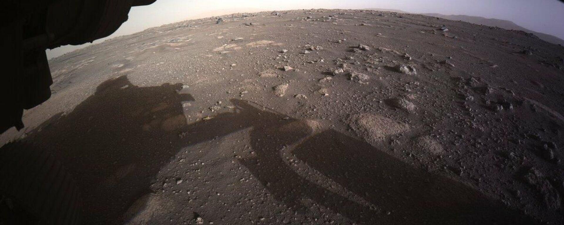 Zdjęcie Marsa zrobione przez łazika Perseverance  - Sputnik Polska, 1920, 27.04.2021