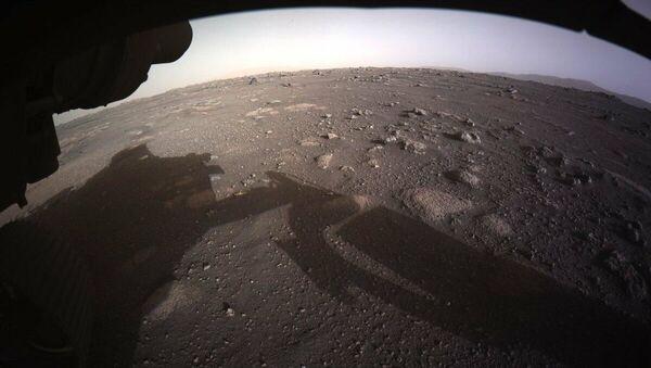 Zdjęcie Marsa zrobione przez łazika Perseverance  - Sputnik Polska