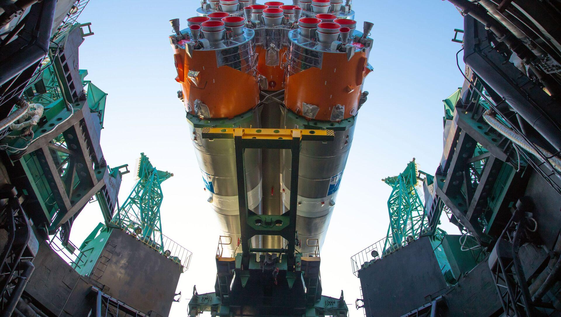 Pierwszy rosyjski satelita Arktika-M do monitorowania klimatu i środowiska w regionie arktycznym został wyniesiony na orbitę przez rakietę nośną Sputnik-2.16 z kosmodromu Bajkonur w Kazachstanie.  - Sputnik Polska, 1920, 28.02.2021