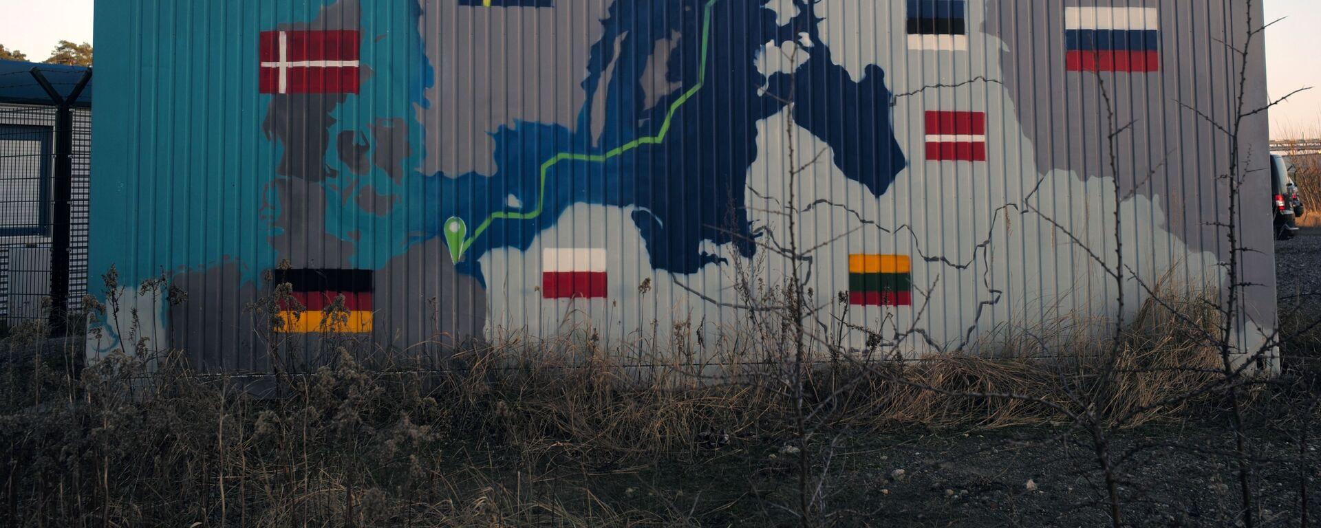 Obiekty lądowe gazociągu Nord Stream 2 w Lubminie w Niemczech. - Sputnik Polska, 1920, 01.07.2021