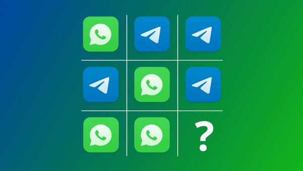 WhatsApp czy Telegram? - Sputnik Polska
