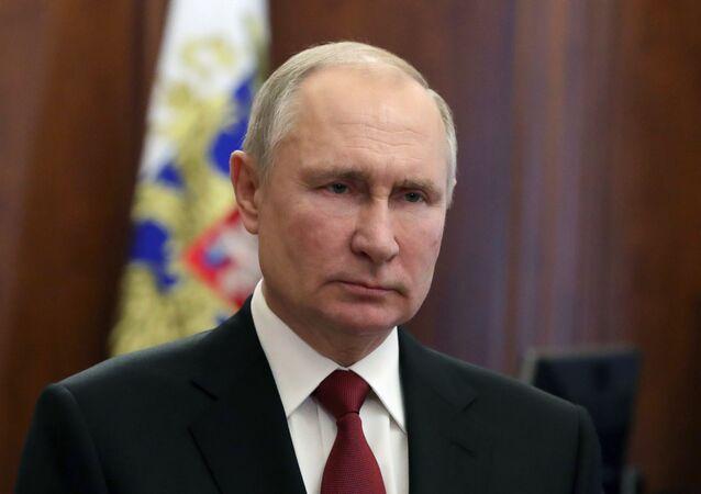 Prezydent Rosji Władimir Putin.