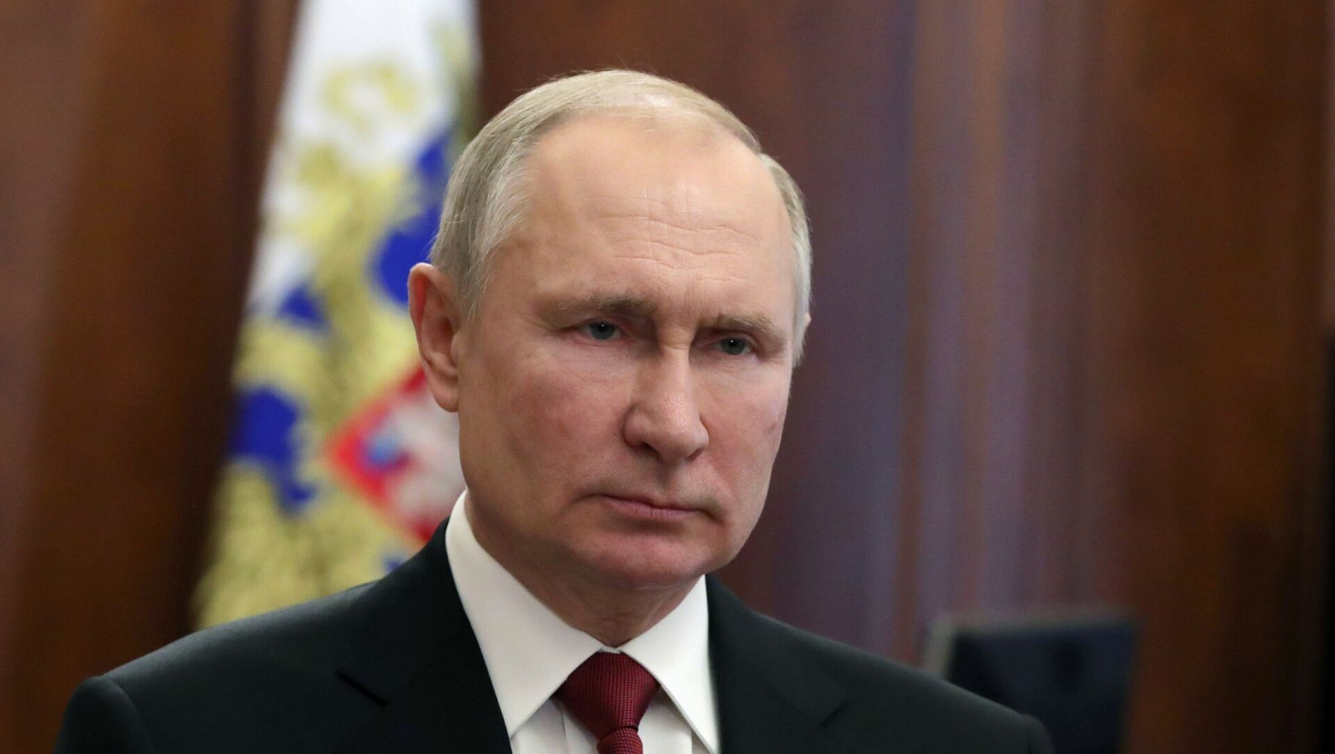 Prezydent Rosji Władimir Putin. - Sputnik Polska, 1920, 22.04.2021