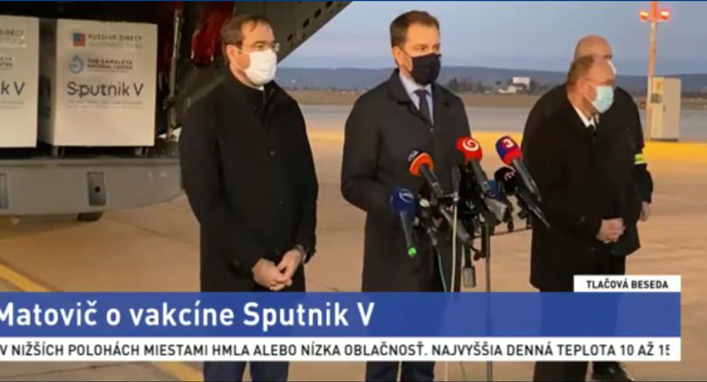 Szczepionka Sputnik V przybyła na Słowację