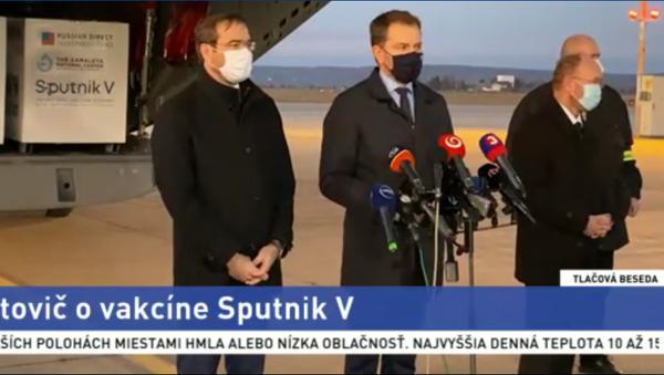 Szczepionka Sputnik V przybyła na Słowację - Sputnik Polska