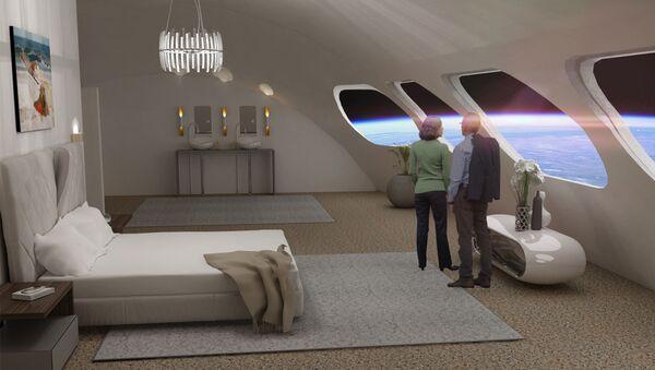 Pokój Luxury Villa w hotelu kosmicznym Voyager Station  - Sputnik Polska