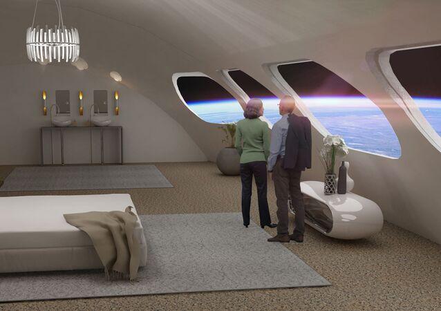 Pokój Luxury Villa w hotelu kosmicznym Voyager Station