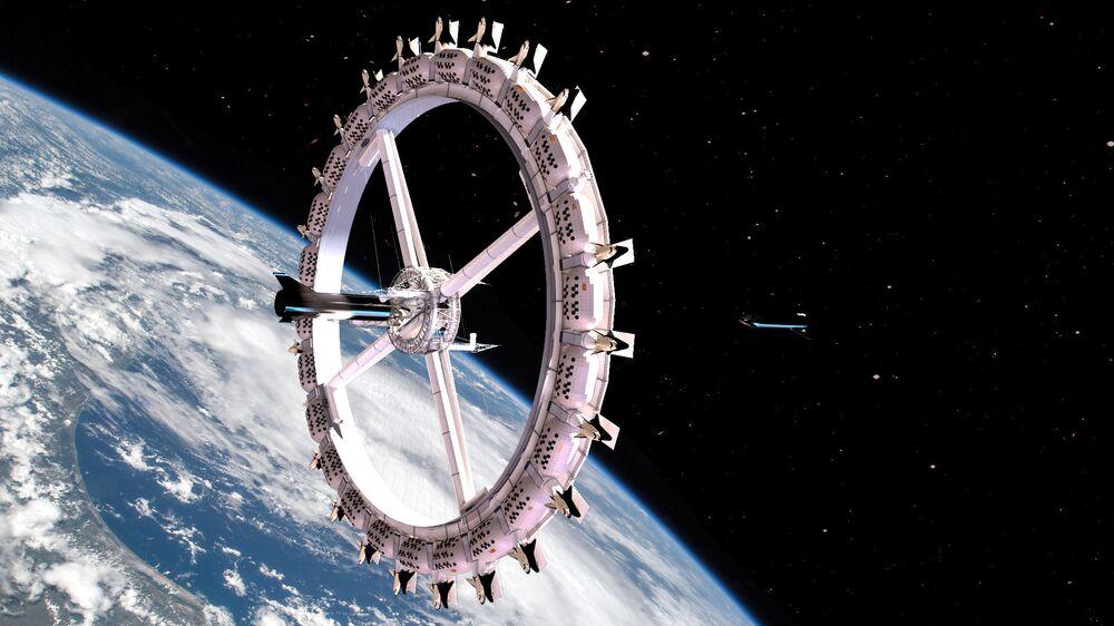 Hotel Voyager Station w kosmosie