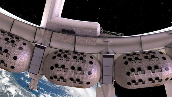 Hotel kosmiczny Voyager Station, który ma zostać oddany do użytku już w 2027 roku - Sputnik Polska