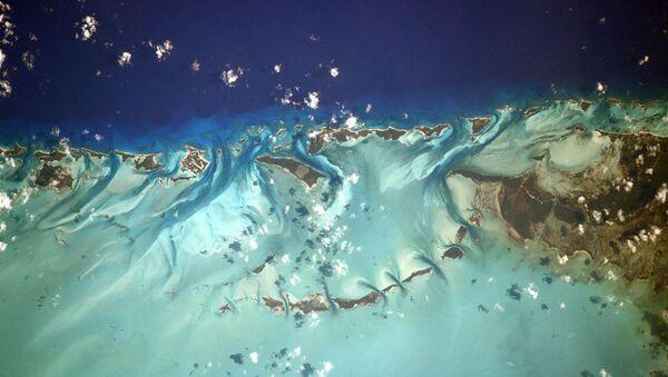 Bahamy zdjęte z pokładu Międzynarodowej Stacji Kosmicznej - Sputnik Polska