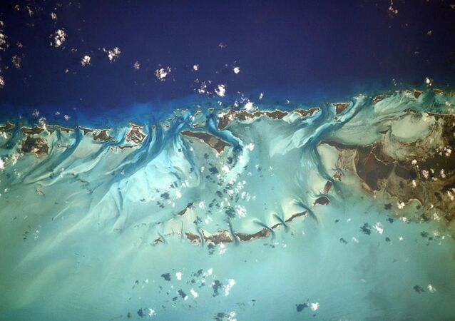 Bahamy zdjęte z pokładu Międzynarodowej Stacji Kosmicznej
