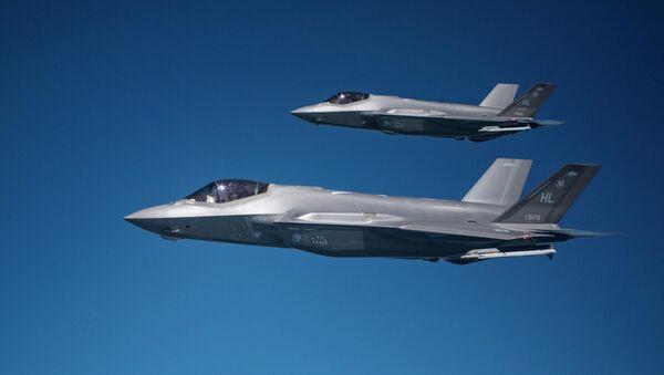 Para myśliwców F-35A Lightning II - Sputnik Polska