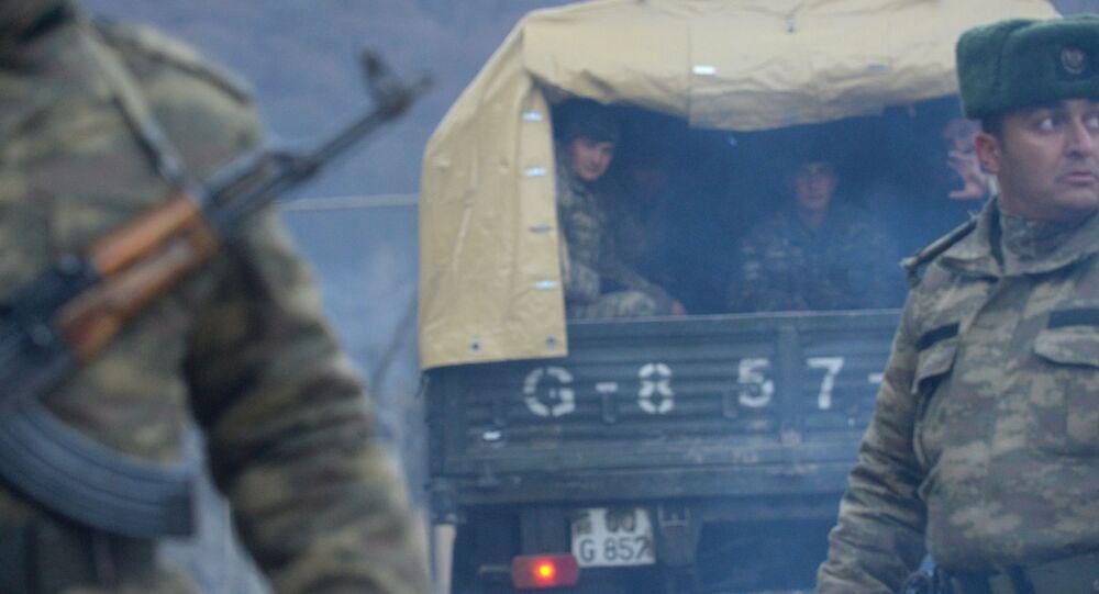 Azerbejdżańska armia wkroczyła do regionu Kəlbəcər