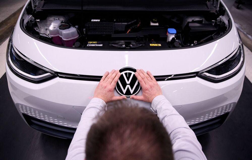 Samochód Volkswagen ID.3