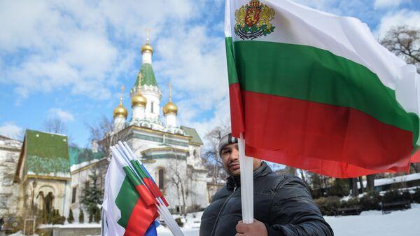 Obchody 140. rocznicy wyzwolenia Bułgarii spod jarzma osmańskiego - Sputnik Polska