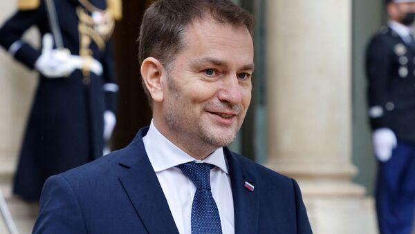 Premier Słowacji Igor Matovic - Sputnik Polska
