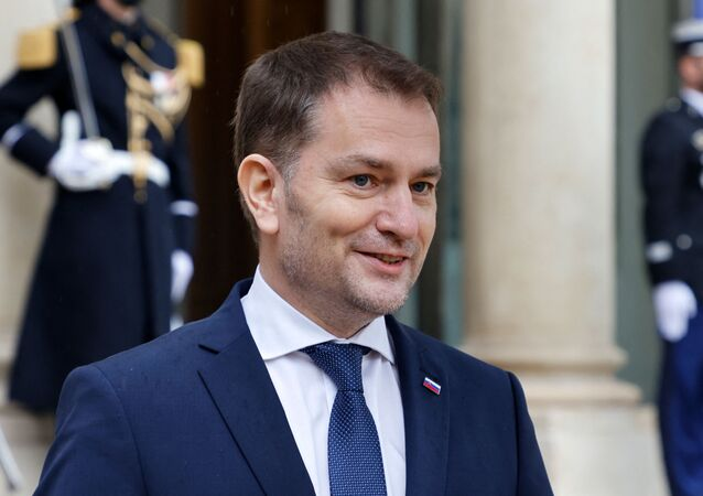 Premier Słowacji Igor Matovic