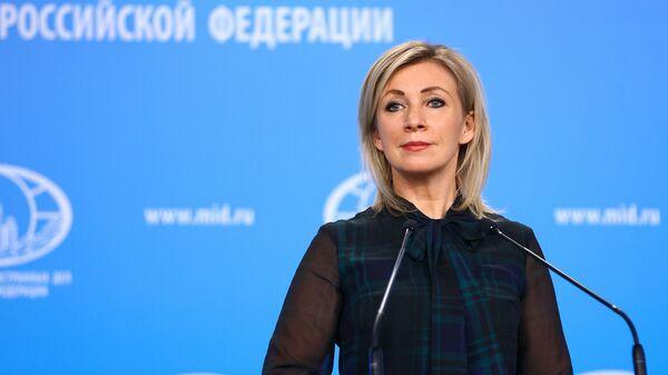Rzeczniczka rosyjskiego MSZ Maria Zacharowa. - Sputnik Polska