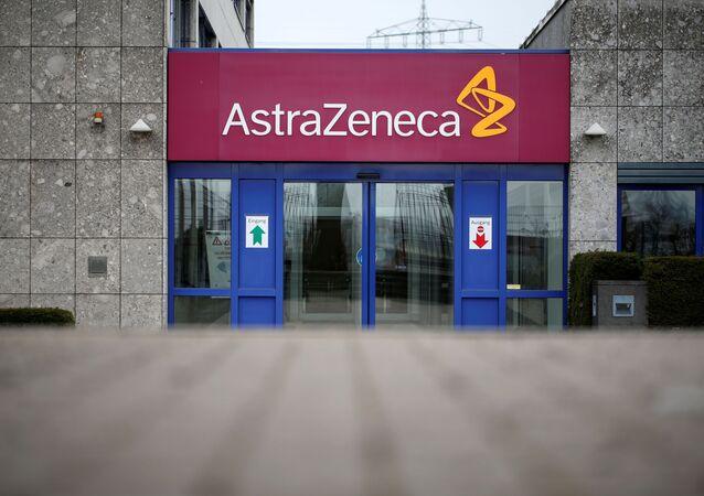 Siedziba szwedzko-brytyjskiej firmy farmaceutycznej AstraZeneca w pobliżu Hamburga, Niemcy