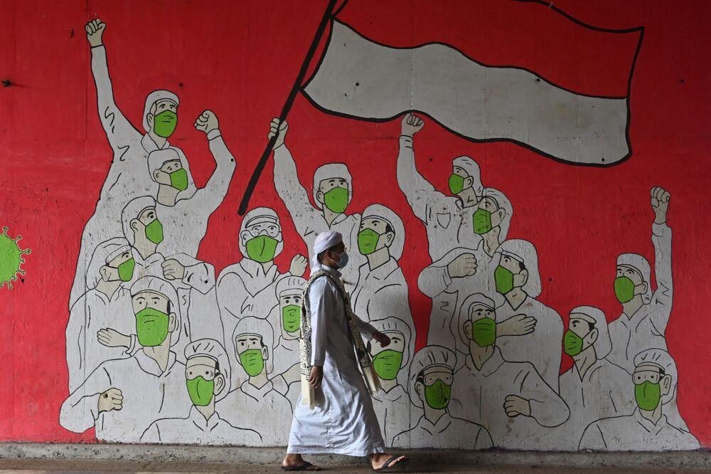 Graffiti w Dżakarcie