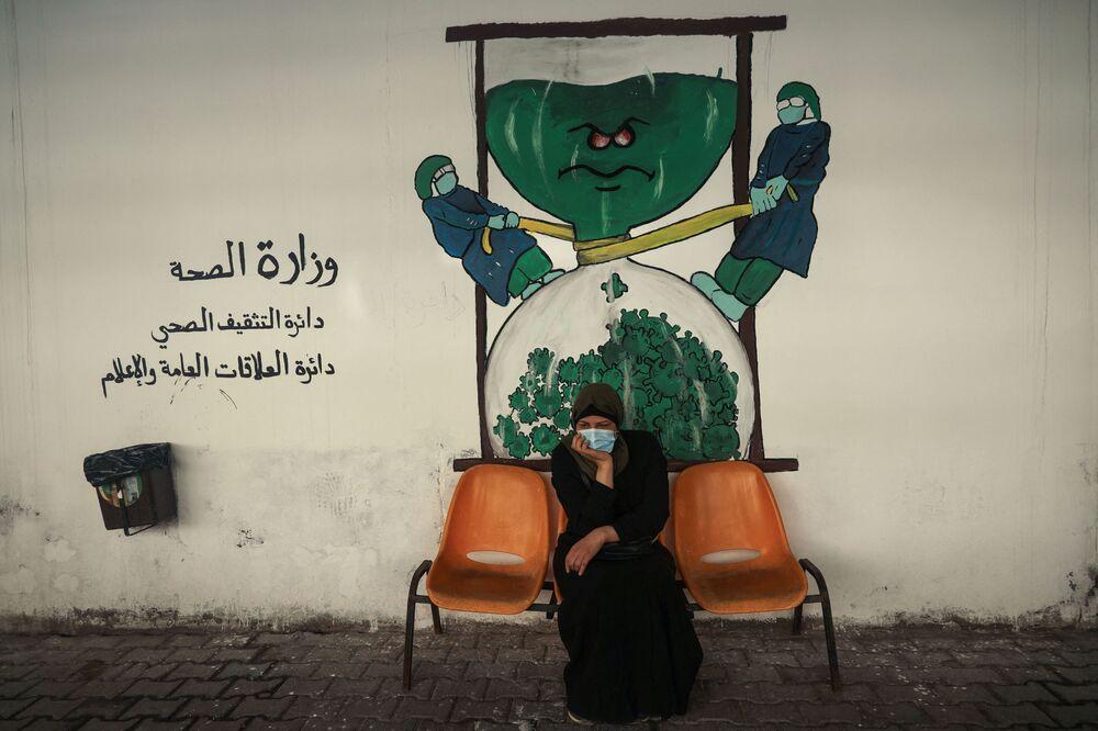 Graffiti w mieście Gaza