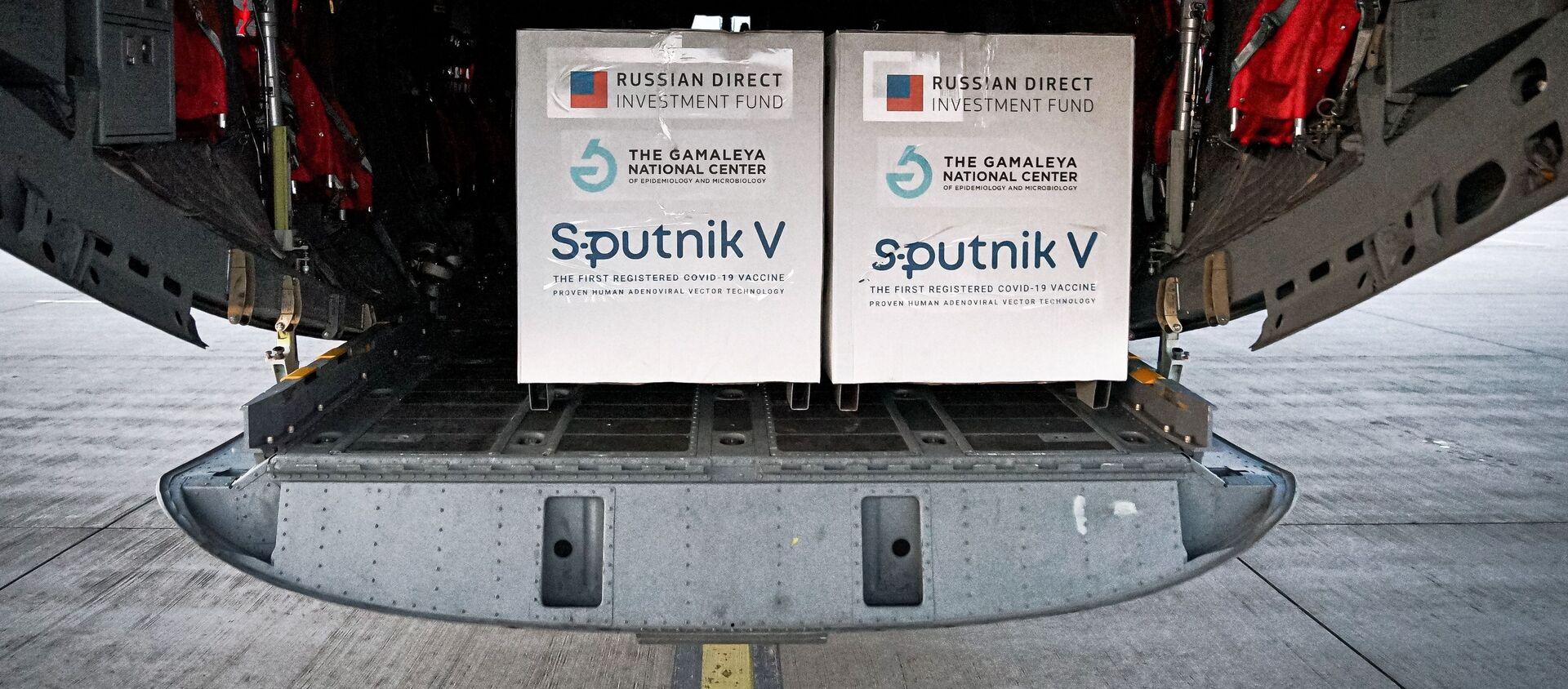 Pierwsza partia rosyjskiej szczepionki Sputnik V przyjechała na Słowację - Sputnik Polska, 1920, 07.05.2021
