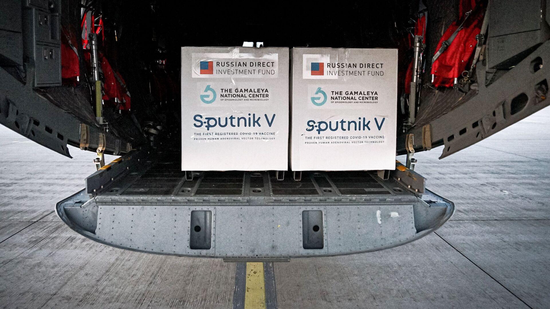 Pierwsza partia rosyjskiej szczepionki Sputnik V przyjechała na Słowację - Sputnik Polska, 1920, 23.03.2021
