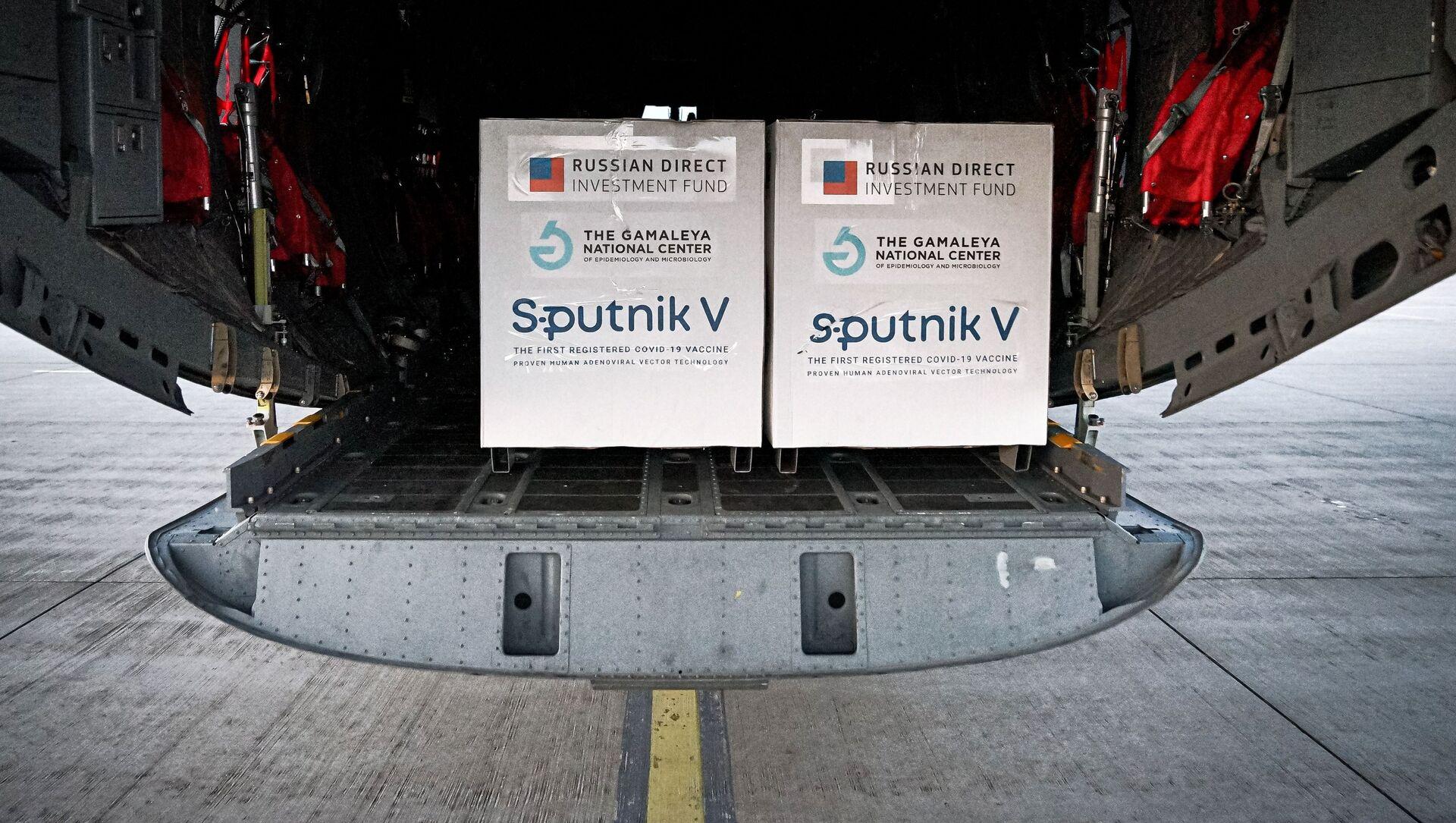 Pierwsza partia rosyjskiej szczepionki Sputnik V przyjechała na Słowację - Sputnik Polska, 1920, 09.03.2021