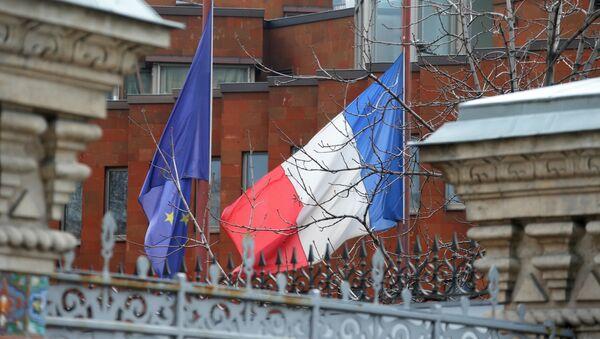 Ambasada Francji w Moskwie - Sputnik Polska