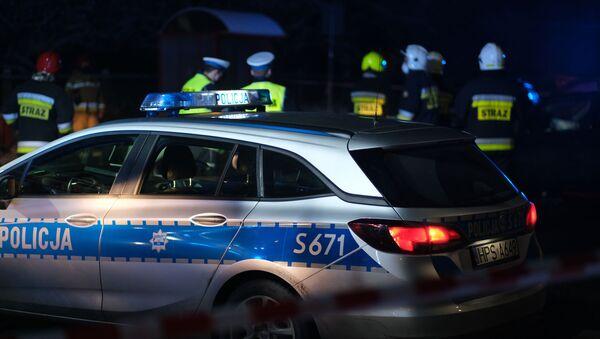 Wypadek na A4 - Sputnik Polska