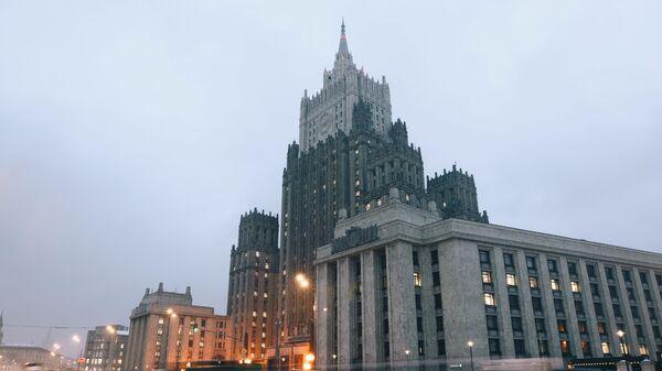 Gmach MSZ Rosji w Moskwie - Sputnik Polska