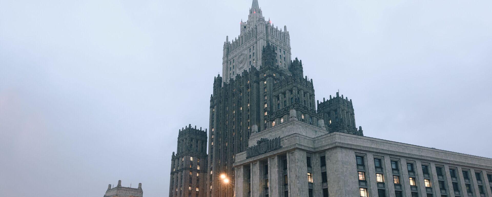 Gmach MSZ Rosji w Moskwie - Sputnik Polska, 1920, 29.06.2021