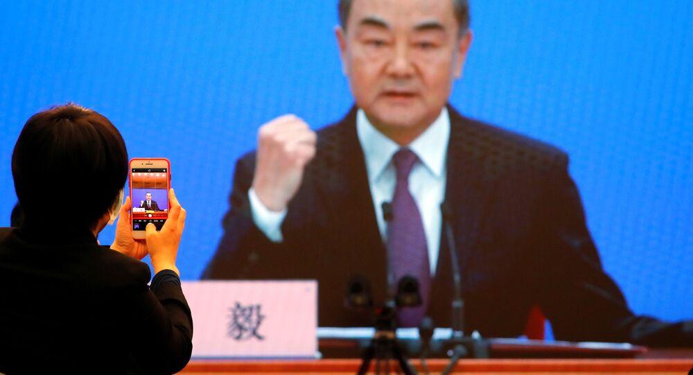 Minister spraw zagranicznych Chin Wang Yi.