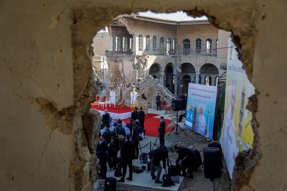 Wizyta Papieża w Mosulu