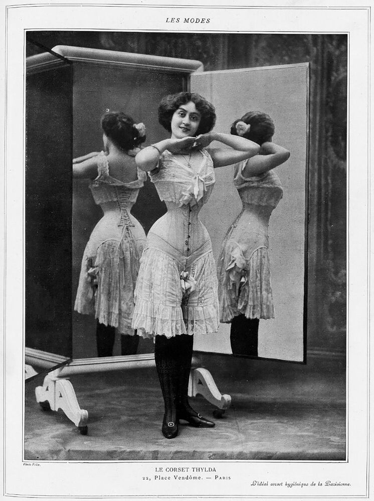 Korset Thylda, 1908 rok