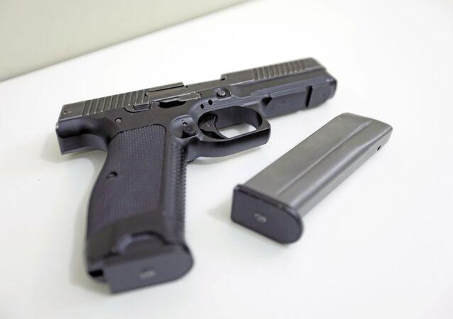"""Modułowy pistolet Lebiediewa """"Ryś"""""""