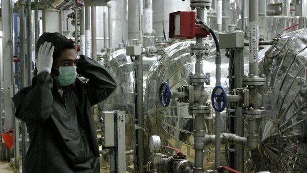 Pracownik irańskiego obiektu jądrowego Isfahan - Sputnik Polska