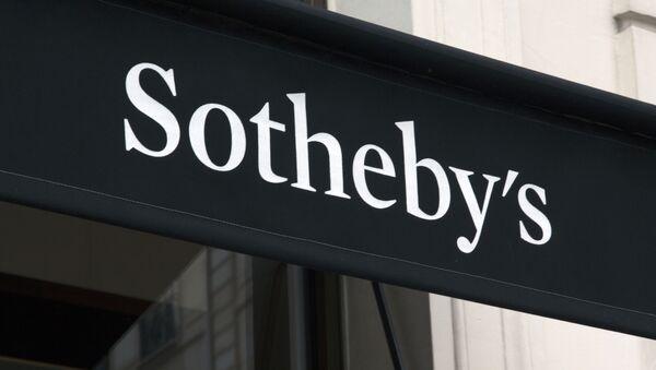 Dom aukcyjny Sotheby's w Nowym Jorku. - Sputnik Polska
