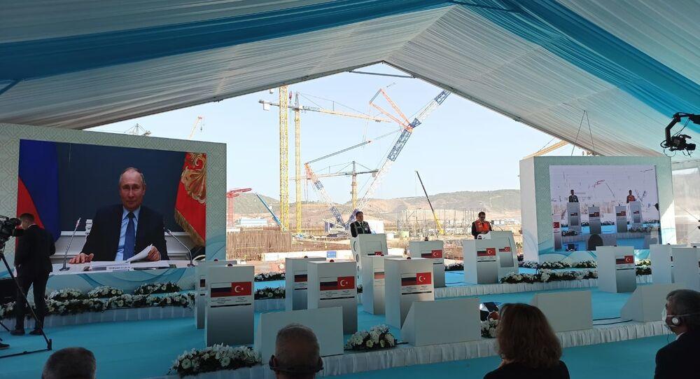 Budowa trzeciego bloku energetycznego elektrowni Akkuyu