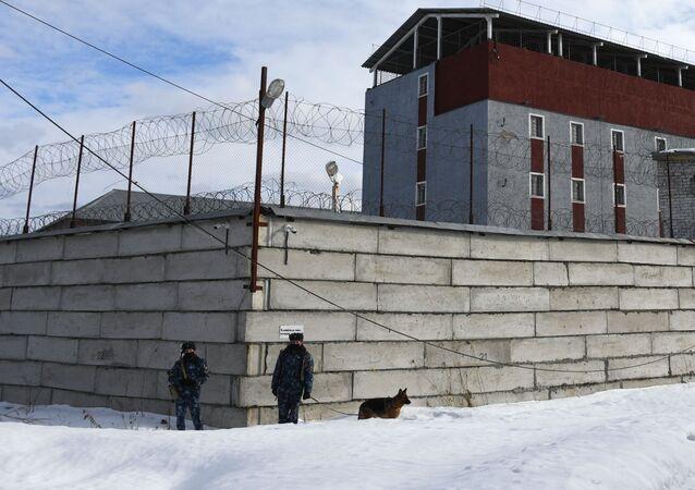 """Areszt śledczy """"Kolczugino"""" w obwodzie włodzimierskim."""